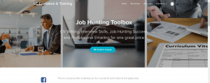 Job hunting toolbox course enrolment page